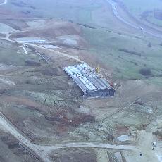 Drona pe A3 Gilau-Nadaselu in martie