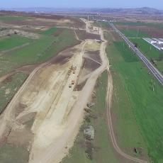 Premiera: drona pe A10 intre Alba Iulia si Aiud